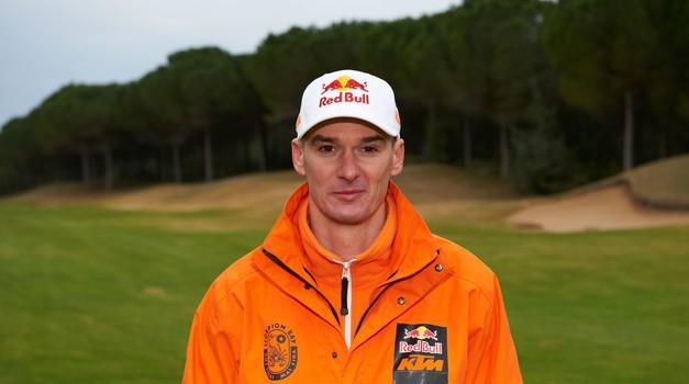 Stefan Everts v zdravniški oskrbi (foto: KTM)