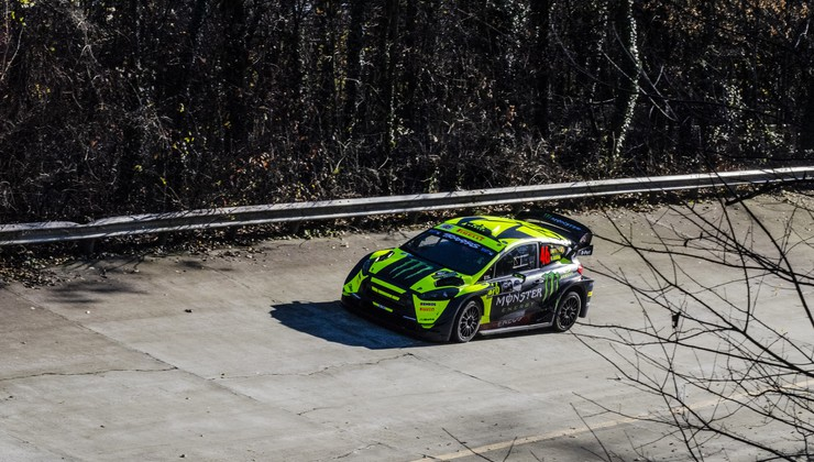 Valentino Rossi dominiral 38. izvedbo Monza rally showa