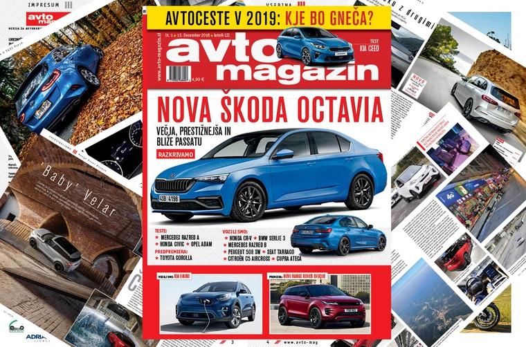 Izšel je novi Avto magazin! Testi: Kia Ceed, Mercedes razred A, Hyundai Tucson (foto: MJ)