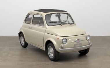 Fiat 500 tudi pomemben del moderne umetnosti