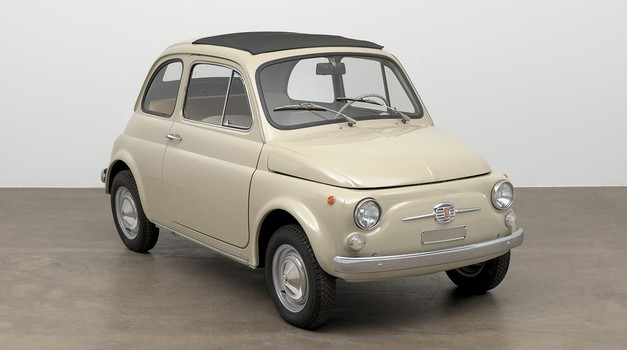 Fiat 500 tudi pomemben del moderne umetnosti (foto: FCA)