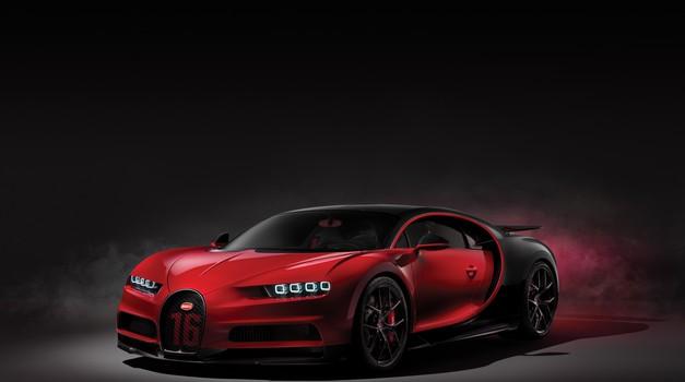 Bugatti Chiron ne bo naskakoval hitrostnega rekorda (foto: Bugatti)