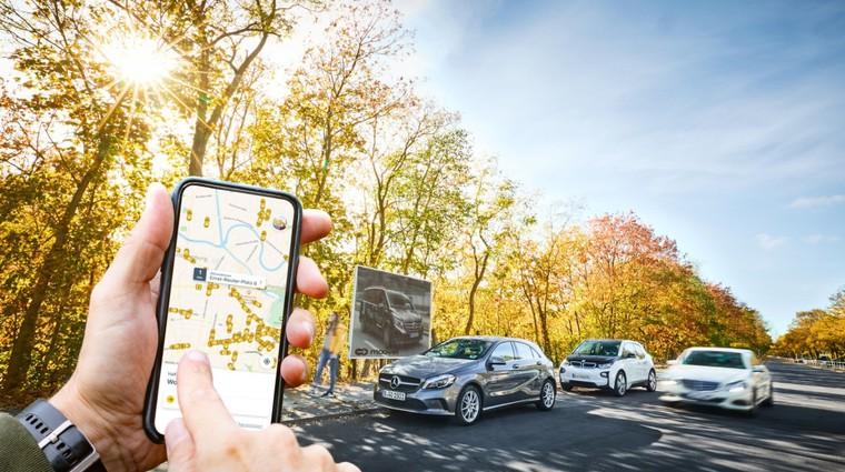 BMW in Mercedes-Benz skupaj v projekt 'car-sharinga' (foto: Daimler)