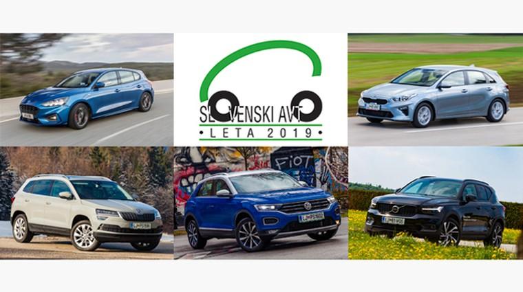 Slovenski avto leta 2019: preizkusite finaliste skupaj z novinarji (foto: Arhiv AM)