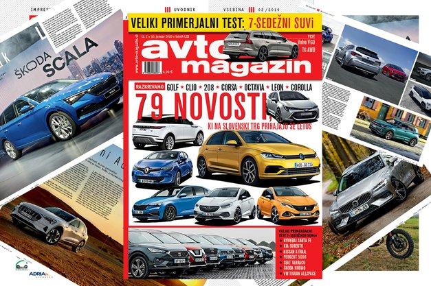 Izšel je novi Avto magazin! Testi: Volvo V60, Peugeot Rifter, VW Caravelle (foto: MJ)