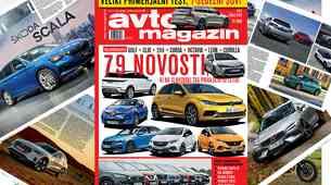 Izšel je novi Avto magazin! Testi: Volvo V60, Peugeot Rifter, VW Caravelle