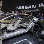 Nissan  v Detroitu predstavlja električno študijo limuzine za prihodnost (foto: Newspress)