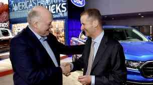 Ford in Volkswagen skupaj (zgolj?) v razvoj dostavnikov