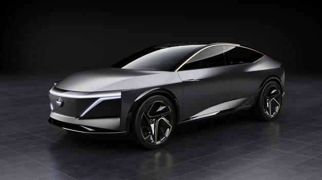 Nissan  v Detroitu predstavlja električno študijo limuzine za prihodnost (foto: Nissan)