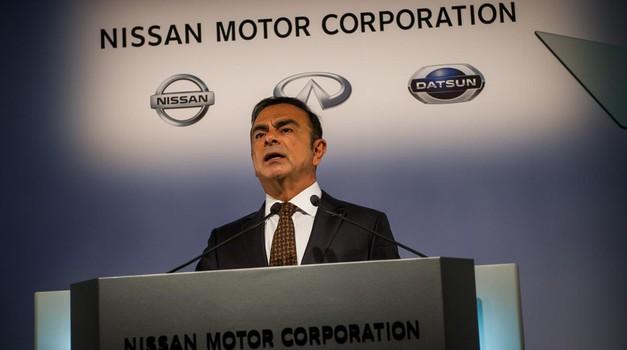 Nad Ghosna zdaj tudi Nissan? (foto: Nissan)