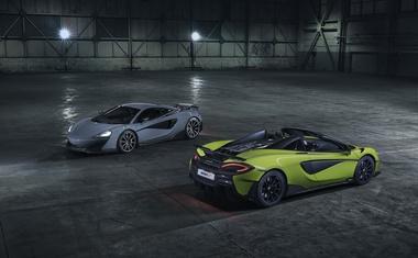 McLaren 600LT je dobil prepišno različico Spider