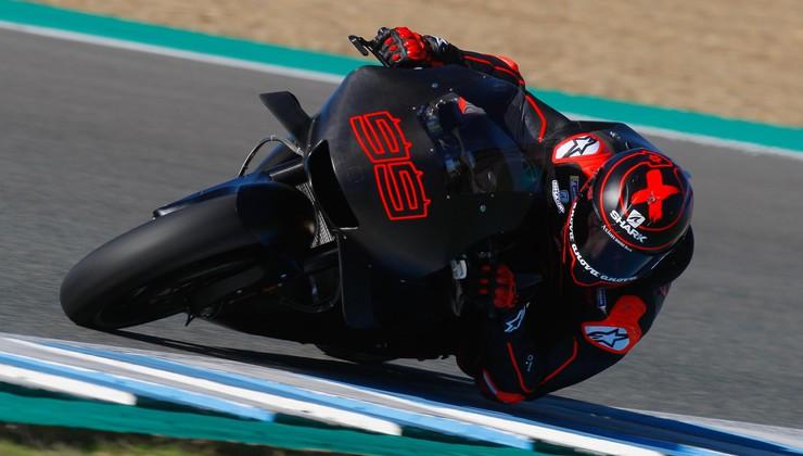 Moto GP: Lorenzo poškodovan tik pred predstavitvijo novega dirkalnika