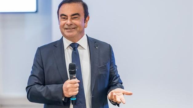 Carlos Ghosn naj bi se strinjal z odhodom z vrha Renaulta (foto: Renault)