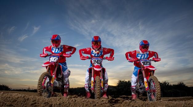 MXGP: Gajser in Honda pripravljena na sezono 2019 (foto: Honda)