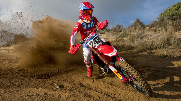 MXGP: Tim Gajser drugi na generalki pred začetkom sezone (foto: Honda)