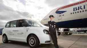 Londonski električni taksiji po novem tudi na Heathrowu