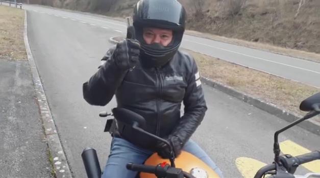 AM interno #70: Ni zime za motocikliste (foto: Arhiv AM)