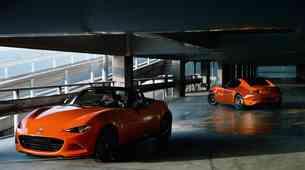 Oranžna Mazda MX-5 za 30. obletnico najbolje prodajanega roadsterja