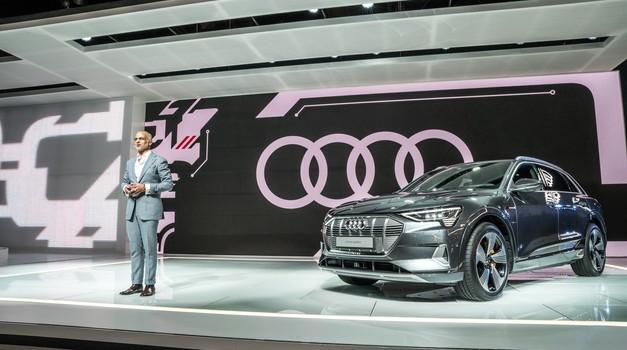 Audi v Ženevo z električnim avtomobilom v velikosti modela Q3 (foto: Audi)