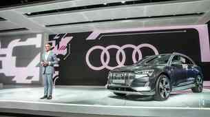 Audi v Ženevo z električnim avtomobilom v velikosti modela Q3