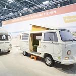 Volkswagen je bivalnik na osnovi Transporterja  T2 izdelal iz kock Lego (foto: VW)