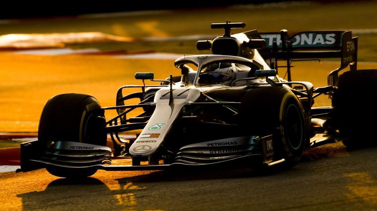 Formula 1: Tudi drugi dan testiranj brez presenečenj (foto: Daimler)