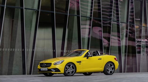 Mercedes-Benz SLC odhaja v pokoj v slogu (foto: Daimler AG)