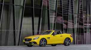 Mercedes-Benz SLC odhaja v pokoj v slogu