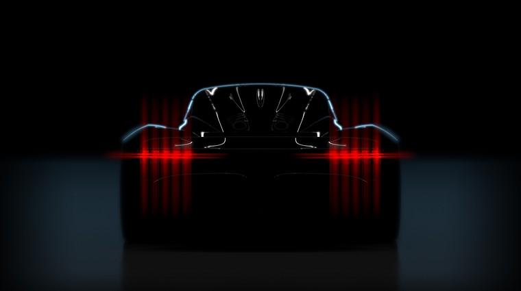 Aston Martin Project 003 je hibridno nadaljevanje modela Valkyrie (foto: Aston Martin)