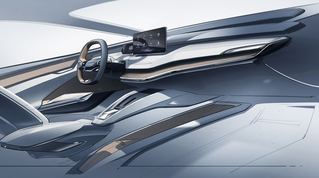 Škoda s študijo Vision iV napoveduje notranjost električnih avtomobilov (foto: Škoda)