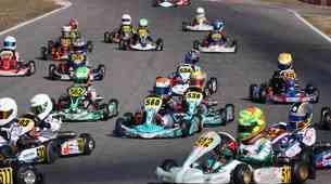 Karting: štirje slovenski vozniki na mednarodni dirki v Italiji