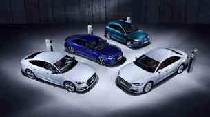Audi v Ženevo s štiriperesno deteljico hibridov