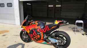 KTM na hrvaškem Grobniku testira dirkalnik za MotoGP