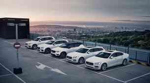 Volvo zmanjšuje najvišjo hitrost na 180 km/h