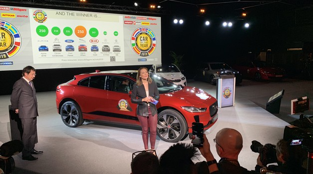 Evropski avto leta 2019 je Jaguar I-Pace! (foto: Saša Kapetanovič)