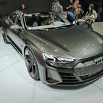 Ženeva 2019: Audi z električnimi in elektrificiranimi novostmi (foto: Dušan Lukič)