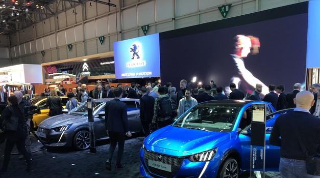 Ženeva 2019: Peugeot s poudarkom na elektriki (foto: Sebastjan Plevnjak)