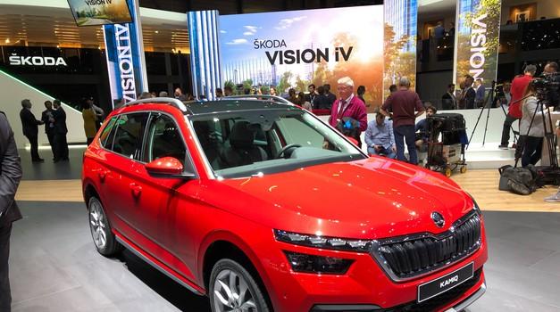 Ženeva 2019: Škoda predstavlja naslednika priljubljenega modela Yeti (foto: Dušan Lukič)