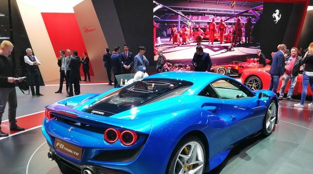 Ženeva 2019: Ferrari predstavlja naslednika modela 488 GTB, F8 Tributo (foto: Dušan Lukič)