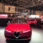 Ženeva 2019: Tudi Alfa Romeo se podaja na električna pota (foto: Dušan Lukič)