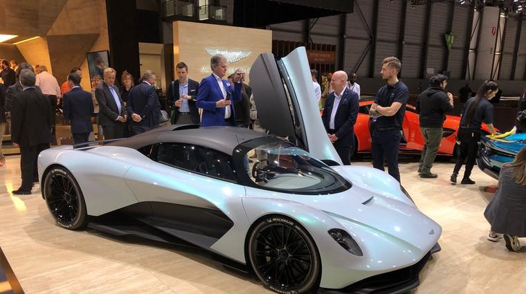 Ženeva 2019: Aston Martin obudi znamko Lagonda (foto: Sebastjan Plevnjak)