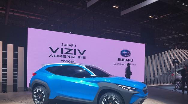 Ženeva 2019: Subaru Viziv in vizija povezovanja z naravo (foto: Sebastjan Plevnjak)