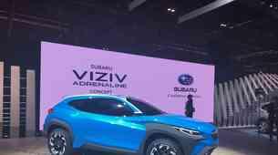 Ženeva 2019: Subaru Viziv in vizija povezovanja z naravo