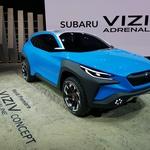 Ženeva 2019: Subaru Viziv in vizija povezovanja z naravo (foto: Dušan Lukič)