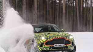 Video: Aston Martin DBX prestal zimska testiranja