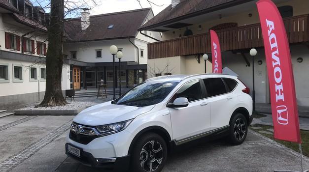 Novo v Sloveniji: Honda CR-V Hybrid (foto: Honda)