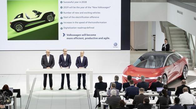 Volkswagen bo še pospešil prehod v novo obdobje, tudi na račun zmanjševanja delovnih mest (foto: Volkswagen)