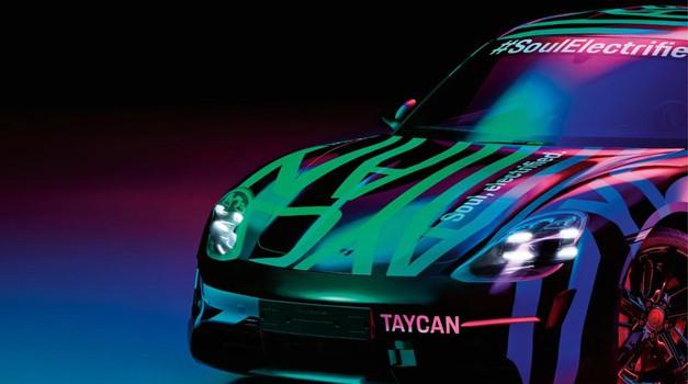 Porsche Taycan prvič uradno in brez maske (foto: Porsche)
