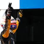 Formula E: Jean-Eric Vergne z zmago med najboljšo trojico (foto: FIA)