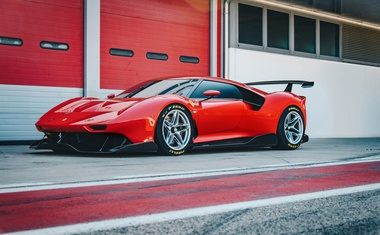 Ferrari P80/C - najskrajnejši italijanski koncept?